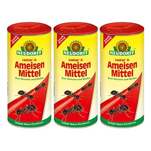 3 x 500 g Neudorff Loxiran -S- AmeisenMittel, Streu- und Gießmittel